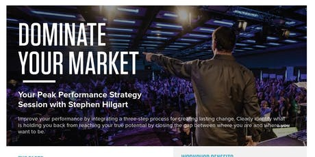TONY ROBBINS! - Dominate Your Market - REALTORS ONLY tickets