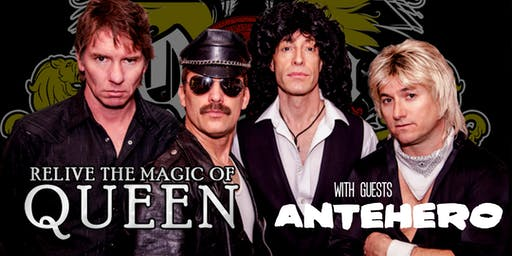 Queen Nation with guests Antehero