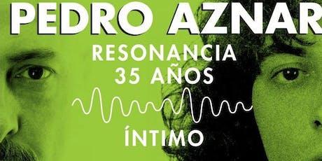 Pedro Aznar en San juan entradas