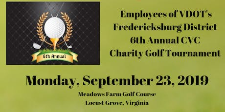 6th Annual VDOT Charity Golf Tournament to Benefit Gwyneth's Gift  tickets