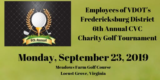 6th Annual VDOT Charity Golf Tournament to Benefit Gwyneth's Gift