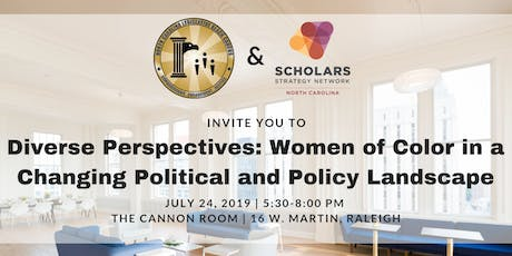 Diverse Perspectives: Women of Color in a Changing Political and Policy Landscape tickets