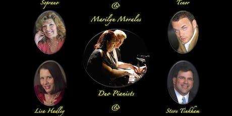"""Cranberry Coast Concerts Season 14 ~ """"Four Hands / Four Voices"""" tickets"""