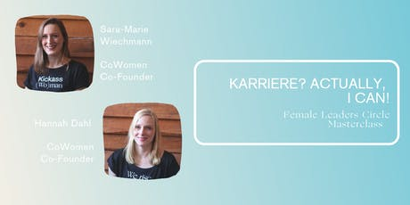Karriere? Actually, I can! tickets