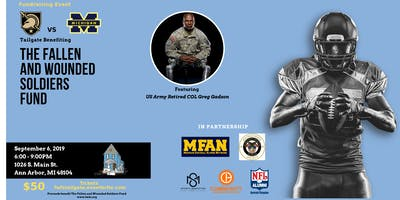 The Fallen and Wounded Soldiers Fund Tailgate Fundraising Event