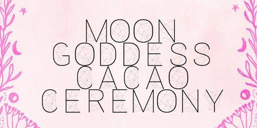 Moon Goddess Cacao Ceremony
