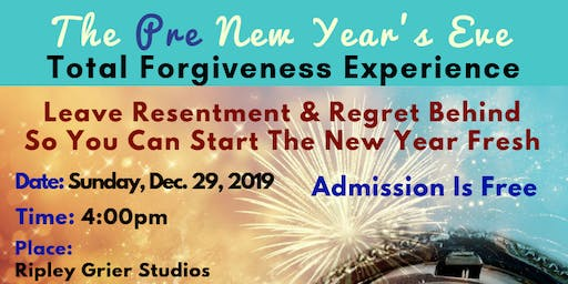 The Pre New Year's Eve Total Forgiveness Experience With Cassandra Mack