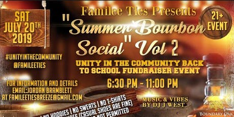 Familee Ties presents: The Social  Vol. 2 tickets