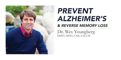 Prevent Alzheimer's & Reverse Memory Loss