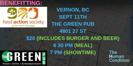 The Human Condition Comedy Tour - Vernon, B.C tickets