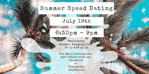 Summer Speed Dating