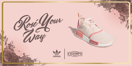 adidas x Champs Sports: Rosé Your Way