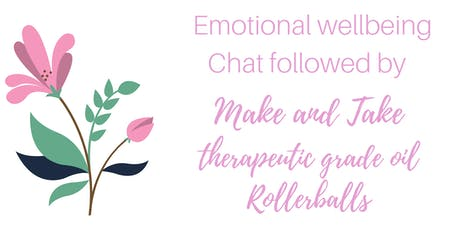 Emotions and Essential Oils Rollerball Class tickets