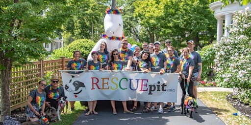 Rescue Pit - 2019 Pride Parade Marchers