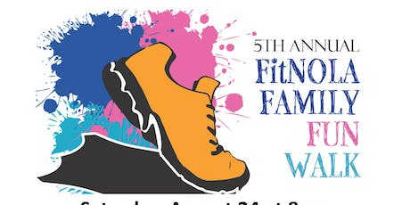 FitNOLA Family Fun Walk tickets