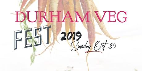 Durham VegFest 2019 tickets