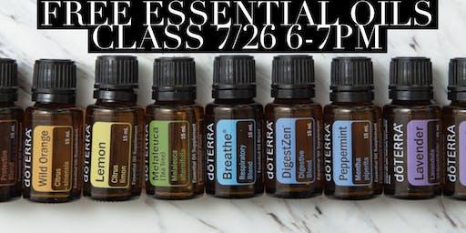 Essential Oils Class DIY Make and Take