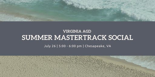 Virginia AGD Summer MasterTrack Social