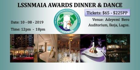 LSSNMAIA - SEMINAR AGM AWARDS DINNER & DANCE   tickets