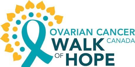 Ovarian Cancer Canada Walk of Hope Ottawa tickets