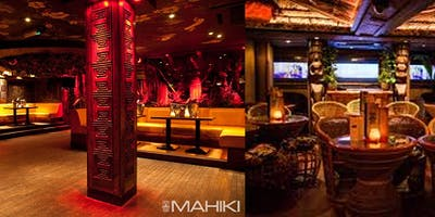Night out at Mahiki with welcome drink