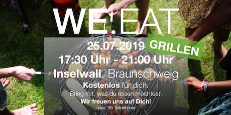 WE.EAT Grillen im Park Tickets
