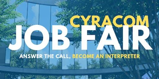 CyraCom Career Fair - Houston TX