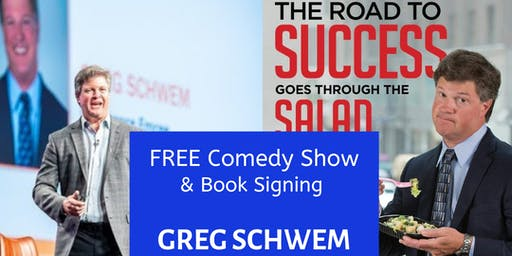 Free Comedy Show + Book signing