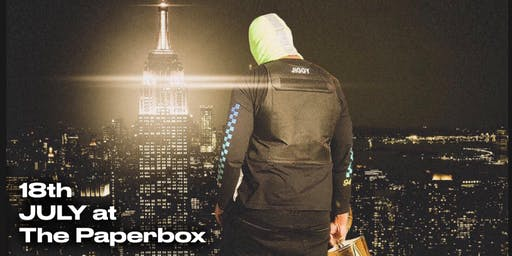 MajorStage Presents: Davy G Live @ The Paper Box (Late Show)