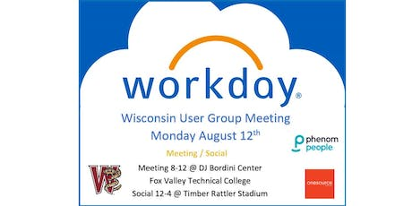 Wisconsin Workday User Group Meeting tickets