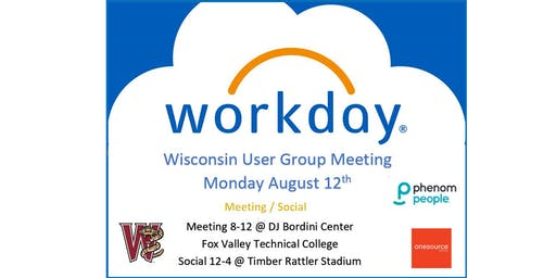 Wisconsin Workday User Group Meeting