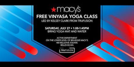 TruFusion Vinyasa Yoga Class tickets