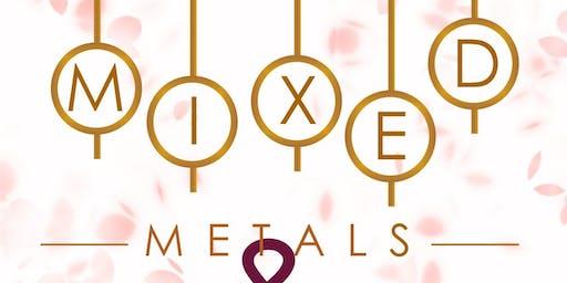 Mixed Metals & Rose Petals Fashion Show