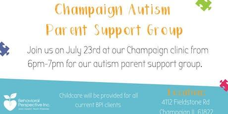 Champaign IL Autism Parent Support Group tickets