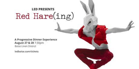 LED Presents Red Hare(ing) tickets