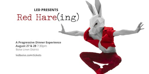 LED Presents Red Hare(ing)