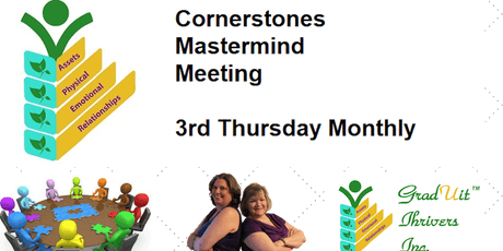 GradUit Thrivers Cornerstones Mastermind - Failure lessons tickets