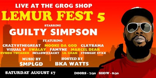 Lemur Fest 5 FT. Guilty Simpson Hosted by BKA WATTS Music by SMPLGD
