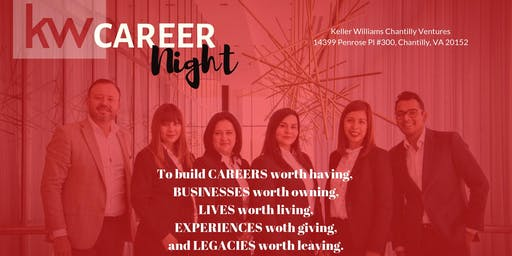 Career Night - Build a career worth having, build businesses with owning