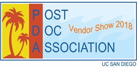 9th Annual UCSD PDA Vendor Show - Attendee Registration tickets