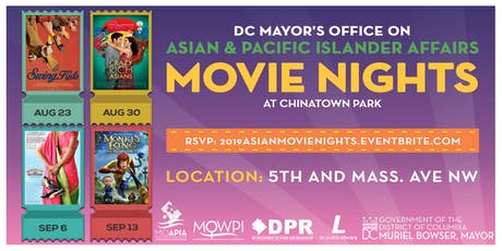 Chinatown Park Movie Nights tickets