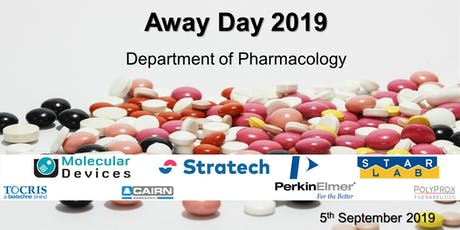 Away Day 2019 - Department of Pharmacology tickets