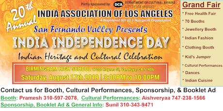 Outdoor India Day Grand Fair - Heritage & Culture  Celebration tickets