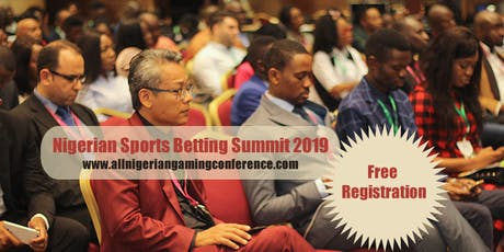 NIGERIAN SPORTS BETTING SUMMIT 2019 tickets