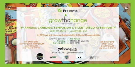 4th Annual Cannabis Symposium & Silent Disco After Party tickets