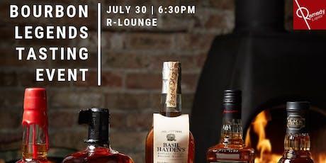 Jim Beam Bourbon Legends Event at R Lounge tickets