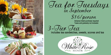 Tea for Tuesdays in September tickets