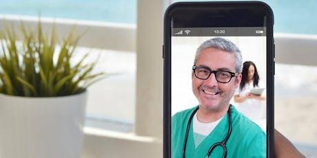 Evento de cobertura de atención médica alternativa - Telemedicina entradas