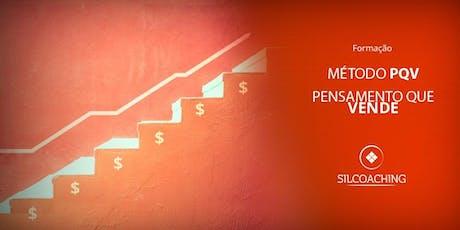 Método PQV - Pensamento que vende - Coaching de Vendas ingressos