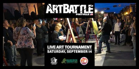 Art Battle Fortville - September 14, 2019 tickets